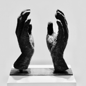 SPACE, bronze, edition 7, H 34 cm, 2013