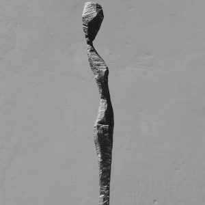 THE CURIOUS ONE, bronze, edition of 12, H 43 cm, 2017