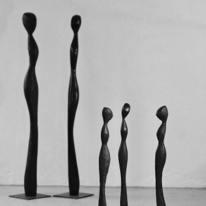 FIGURAL LINES, Robinia, H 42-184 cm, 2012