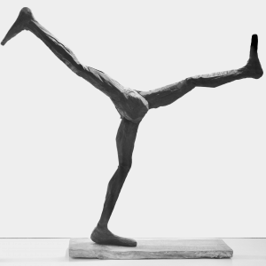 WALK ON, bronze, edition 7, H 124 cm, 2019