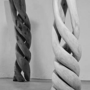 LIBERATION, wood, H 180/160 cm, 2006