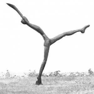 LL OVER, bronze, edition 7, H 205 cm, 2009